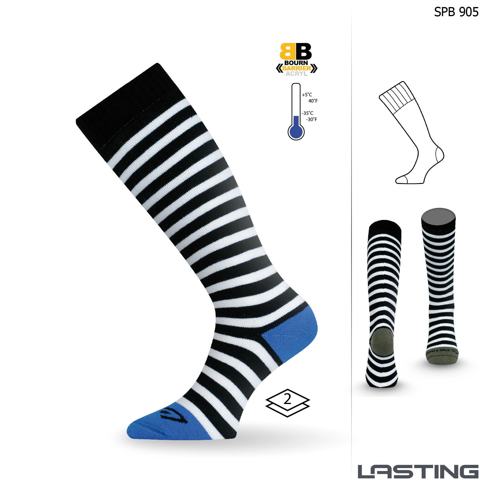 Snowboard ponožky SPB 905 modrá